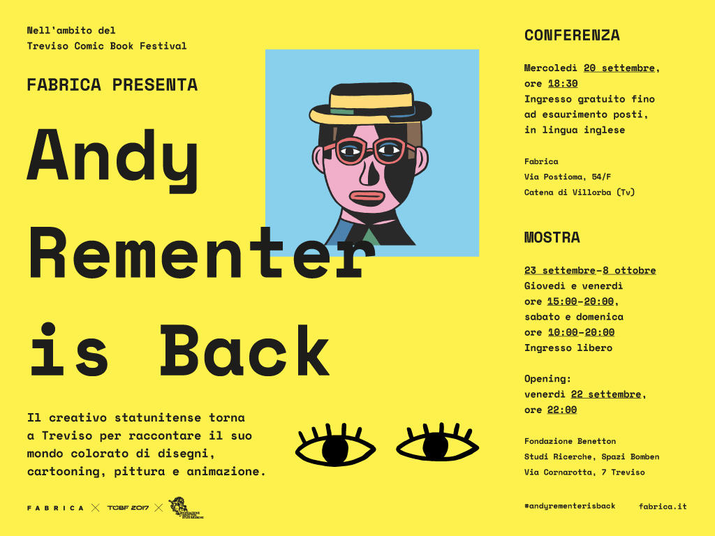 Andy Rementer is back invitation